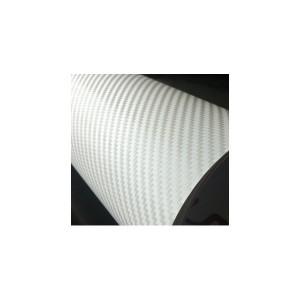 Valkoinen hiilikuitukalvo 3D(30 metriä)